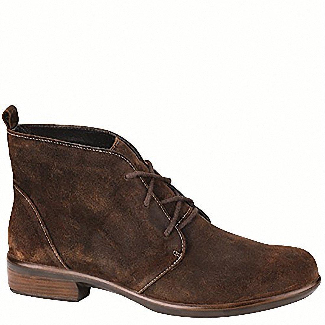 NAOT Levanto Aura Women Boots, Seal Brown Suede,Size - 41