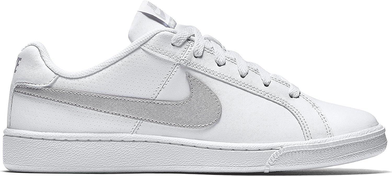 Weißsil Nike Damen Wmns Court Royale Tennisschuhe