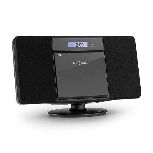 26 opinioni per oneConcept V-13 Impianto Stereo HiFi compatto (radio FM, lettore CD, lettore