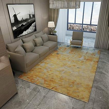 Amazon.com: Meng Qi Nordic Abstract Art Carpet Rectangular ...