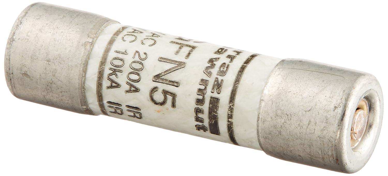 13//32 Diameter x 1-1//2 Length 250VAC 200kA AC 5 Ampere Mersen GFN Time-Delay Midget Fuse