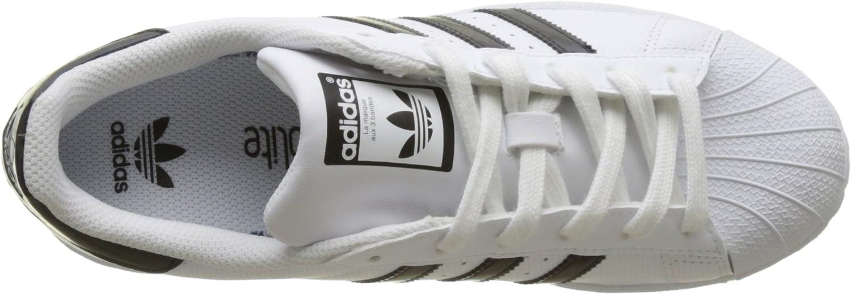 adidas Superstar J, Baskets Mixte Enfant