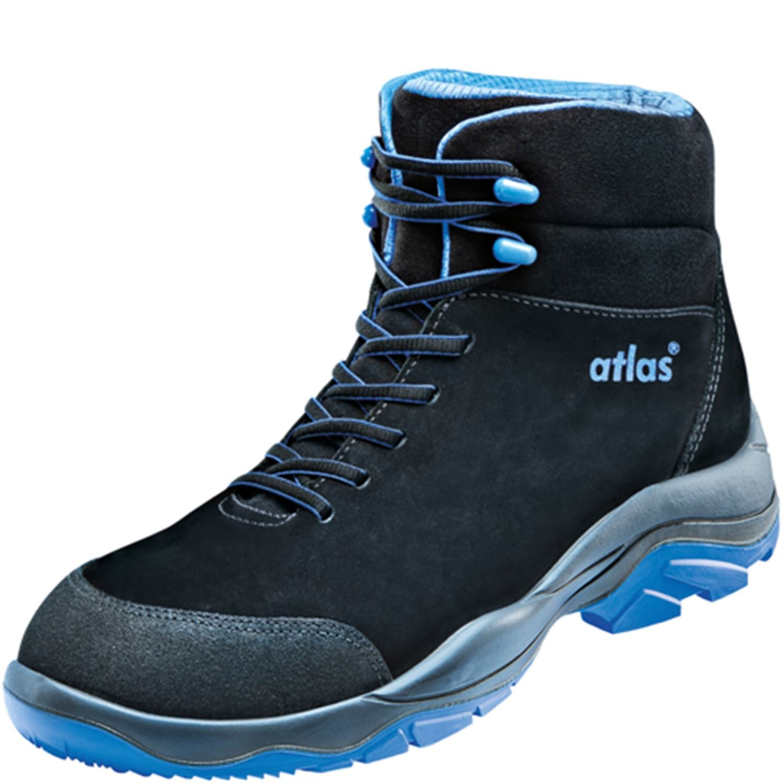 Atlas SL 805 XP Blau Sicherheits-Stiefel S3 20345 SRC ESD EN ISO 20345 S3 Blau Schwarz Blau 5a8383