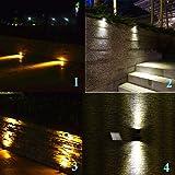 KEYNICE Solar Spotlights Waterproof IP65 Solar