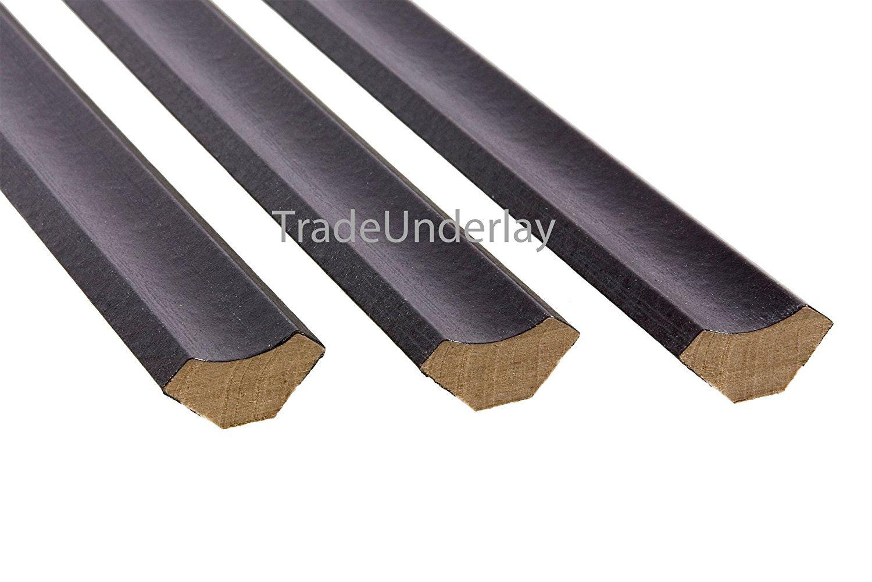 Extreme® Scotia abalorios (–Pack de 10x 1, 20m de longitud–color negro 20m de longitud-color negro West Derby Carpets Online Ltd. - eXtreme®