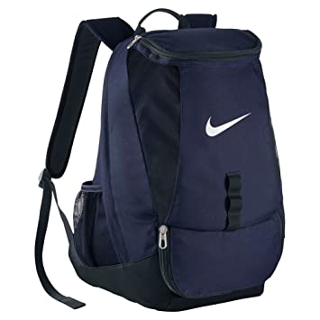 3d1ad8e57040 Nike Club Canvas Swoosh Backpack (Blue )  Amazon.in  Bags