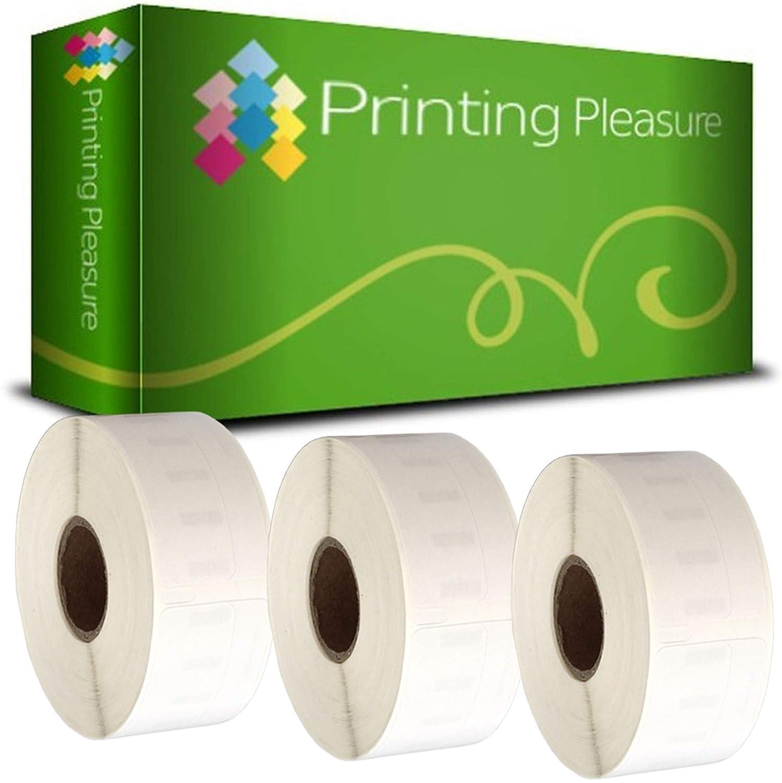 Printing Pleasure 20 x 99017 99017 99017 Rollen Etiketten kompatibel für Dymo LabelWriter & Seiko Etikettendrucker   50mm x 12mm   220 Stück   Hängeablageetiketten B0172ADETO | Einfach zu bedienen  10aa30