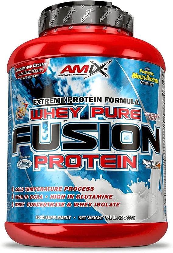 Amix Whey Pure Fusion 2,3 kg - Doble chocolate blanco