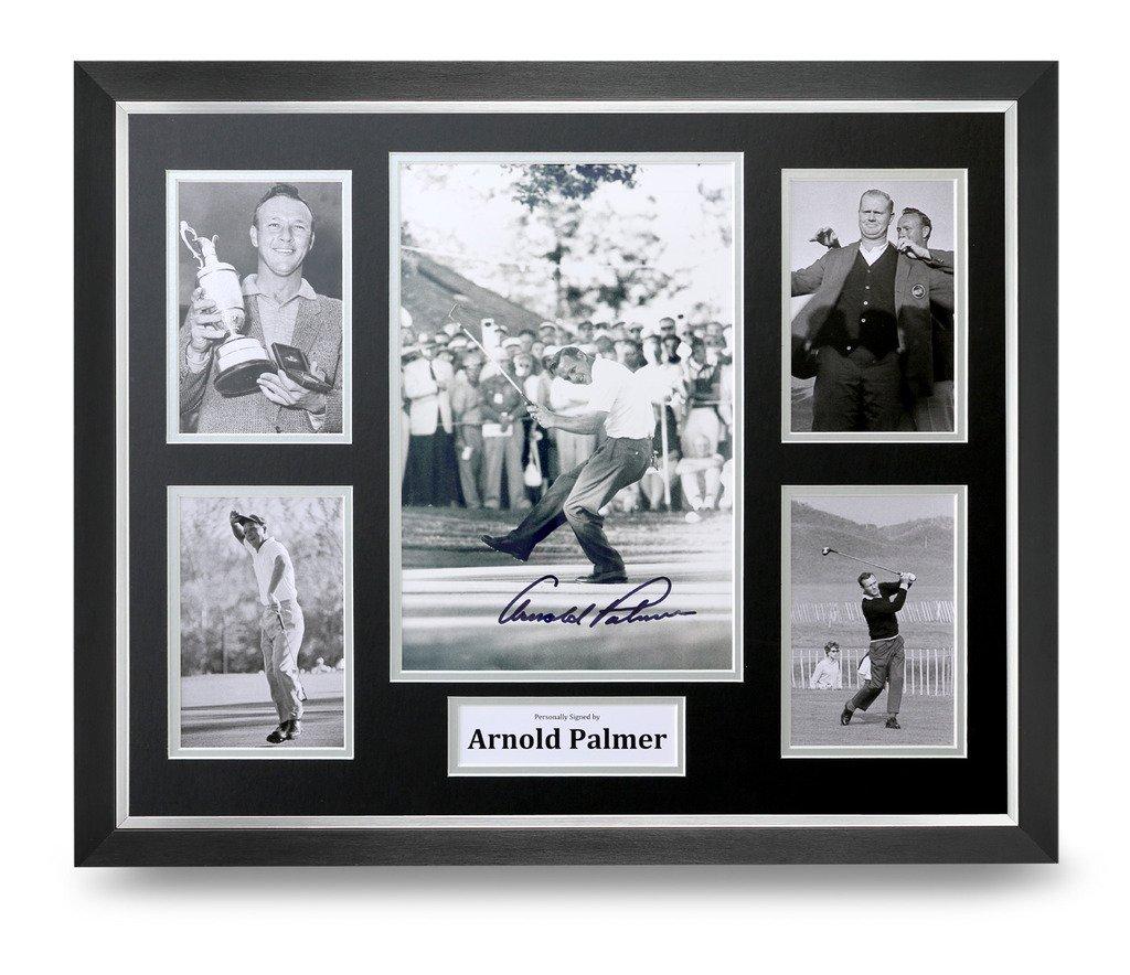 Arnold Palmer gerahmtes Foto signiert 16 x 12 Display Golf Autogramm ...