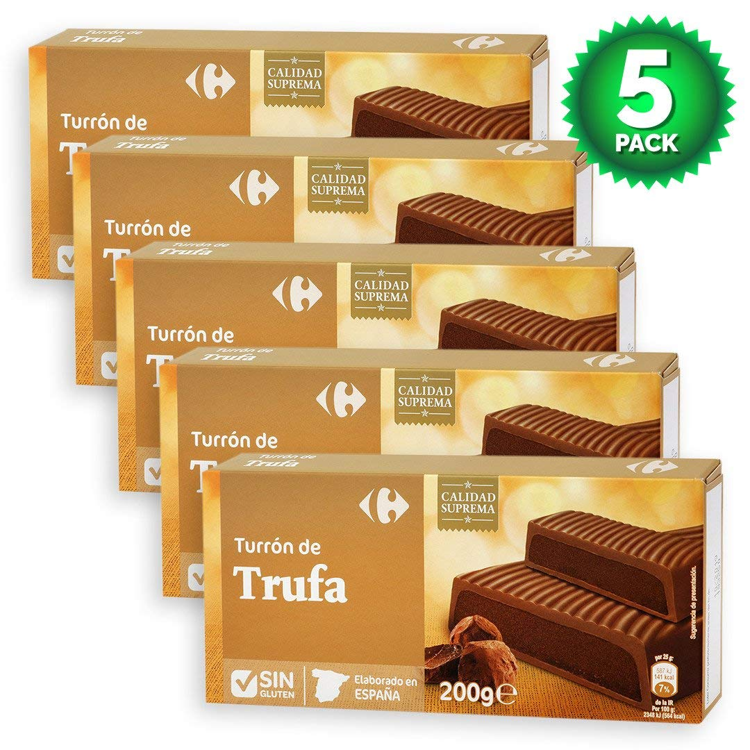 Amazon.com : 5 Pack Carrefour Chocolate-Coated Spanish ...