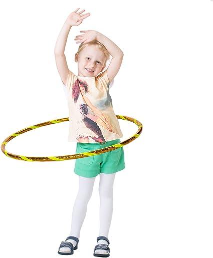 4 Size Hula Hoop Reifen Kinder Spielzeug Mädchen Jungen Neon Farbe 58 cm
