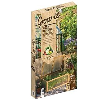 Gardman Wooden Cold Frame: Amazon.co.uk: Garden & Outdoors
