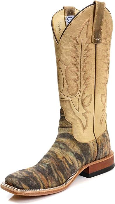 Square Toe Noah Sow Bone Mad Cat Boots
