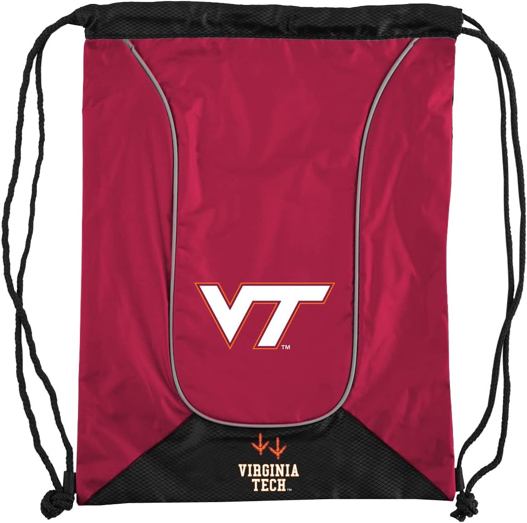 Red 18 Officially Licensed NCAA Virginia Tech Doubleheader Backsack