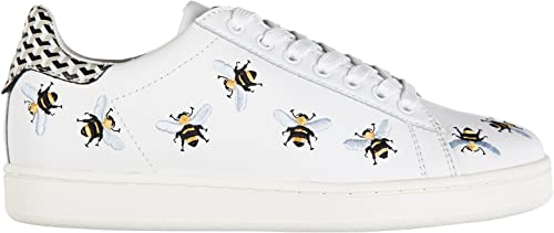 Shoes Leather Trainers Sneakers bee