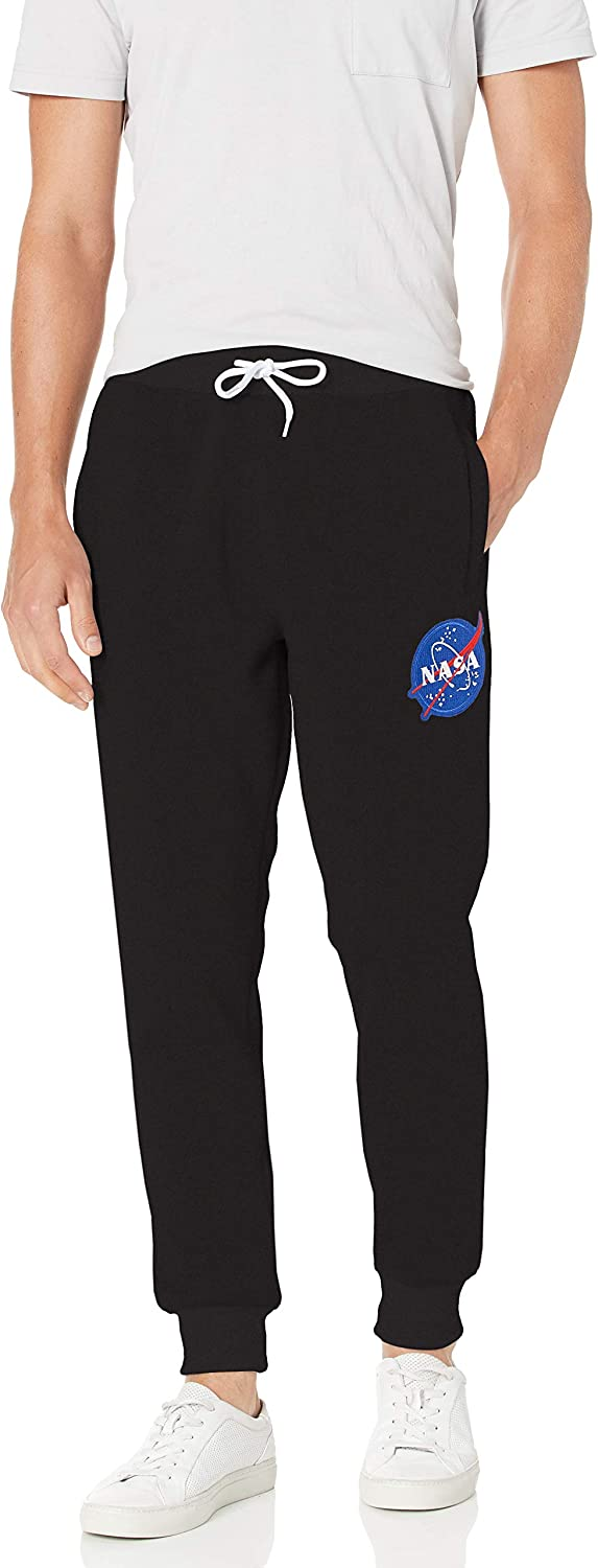 Southpole Men's NASA Collection Fleece Jogger Pants: Clothing