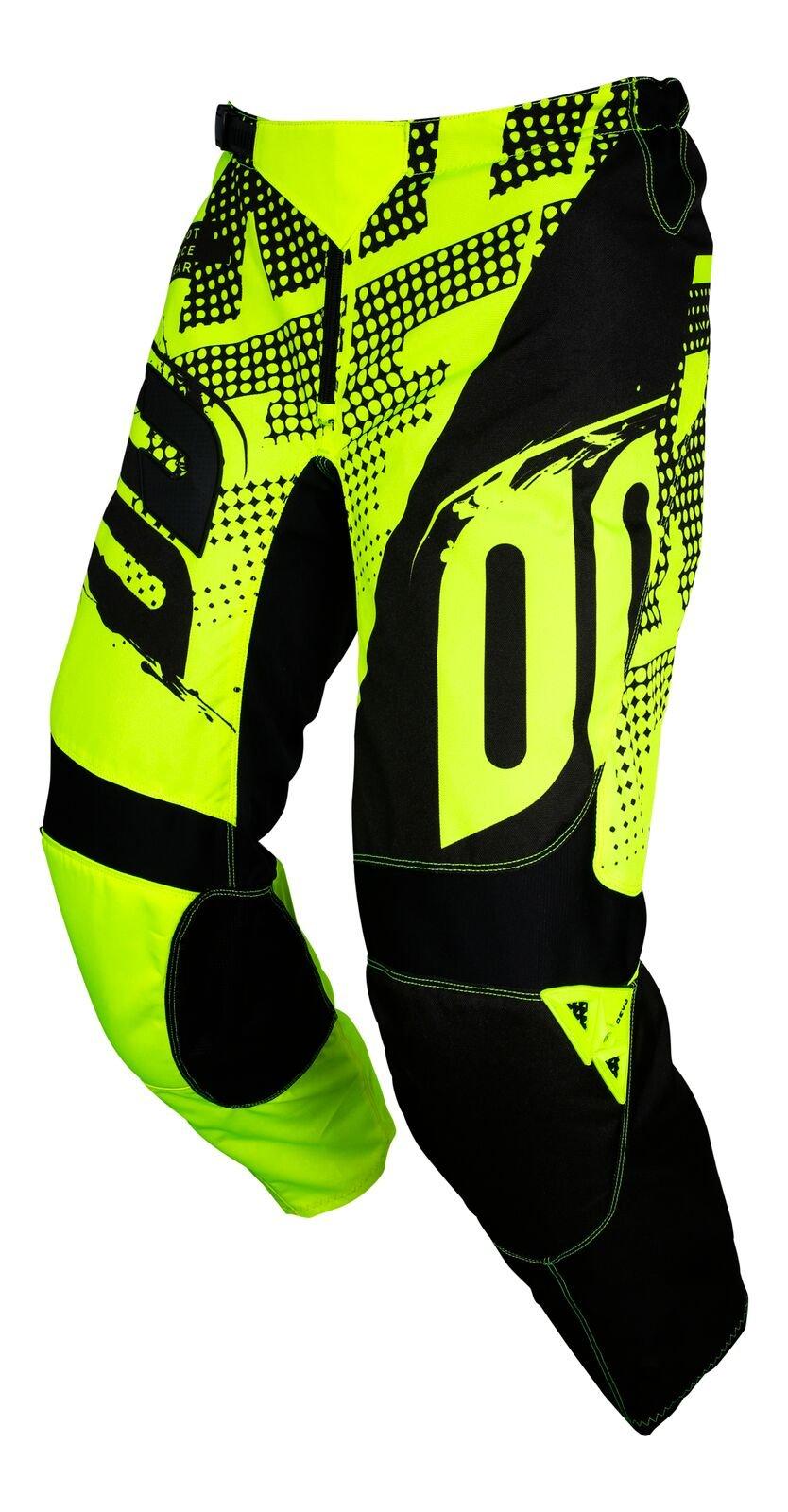Shot Race Gear Youth Devo Kid Venom Neon Yellow Jersey/Pant Combo - Size Y-XLARGE/24W by Shot Race Gear (Image #3)