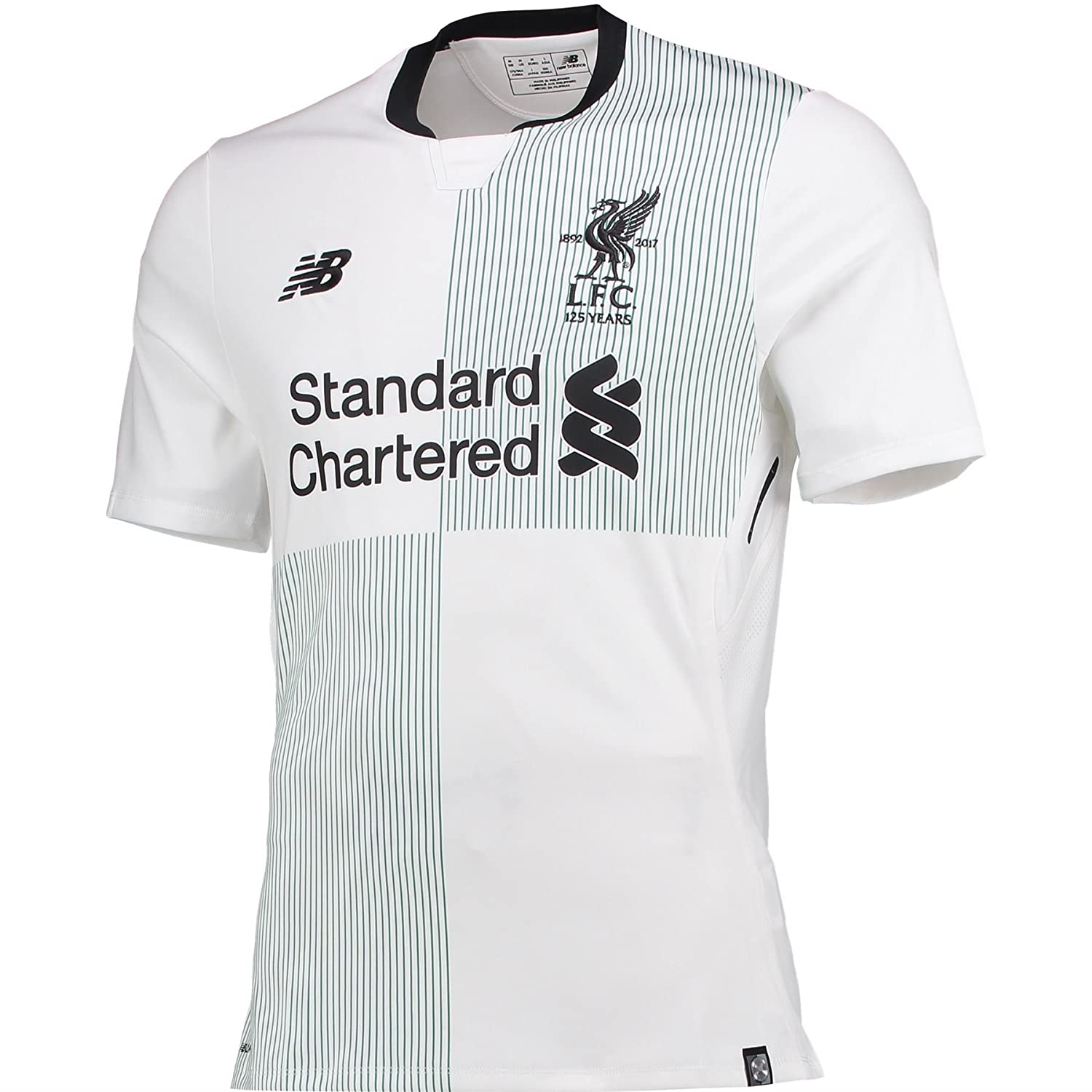 New Balance 2017-2018 Liverpool Elite Away Football Soccer T-Shirt Trikot