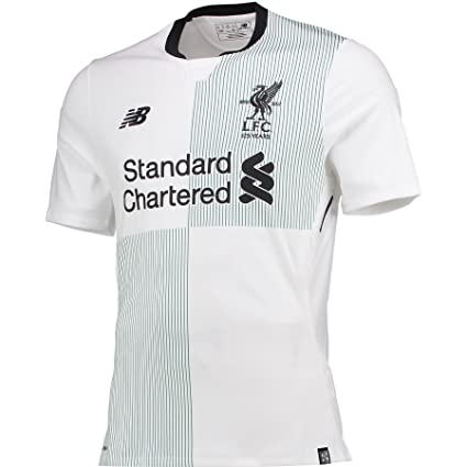 best sneakers 31fe6 f64b2 Amazon.com : New Balance Liverpool FC Away SS Authentic ...