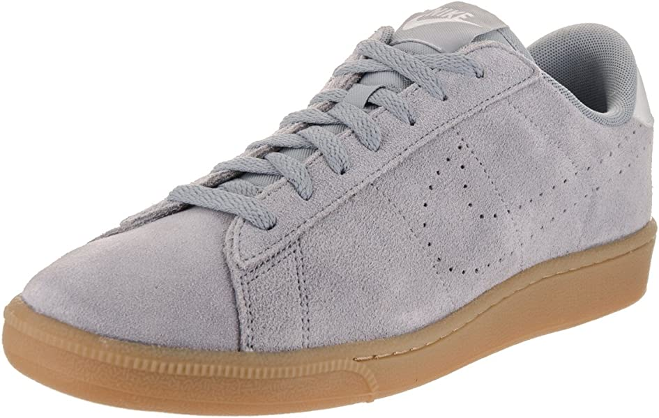 sale retailer 433ee ab7d5 Nike Men s Tennis Classic CS Suede Stealth Stealth Pure Platinum Tennis Shoe  8.5 Men