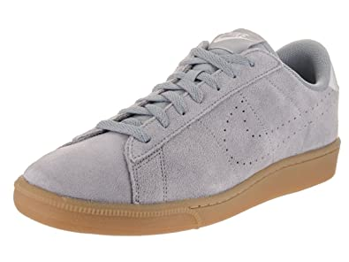 Nike Men's Tennis Classic CS Suede Stealth/Stealth/Pure Platinum Tennis Shoe  8 Men