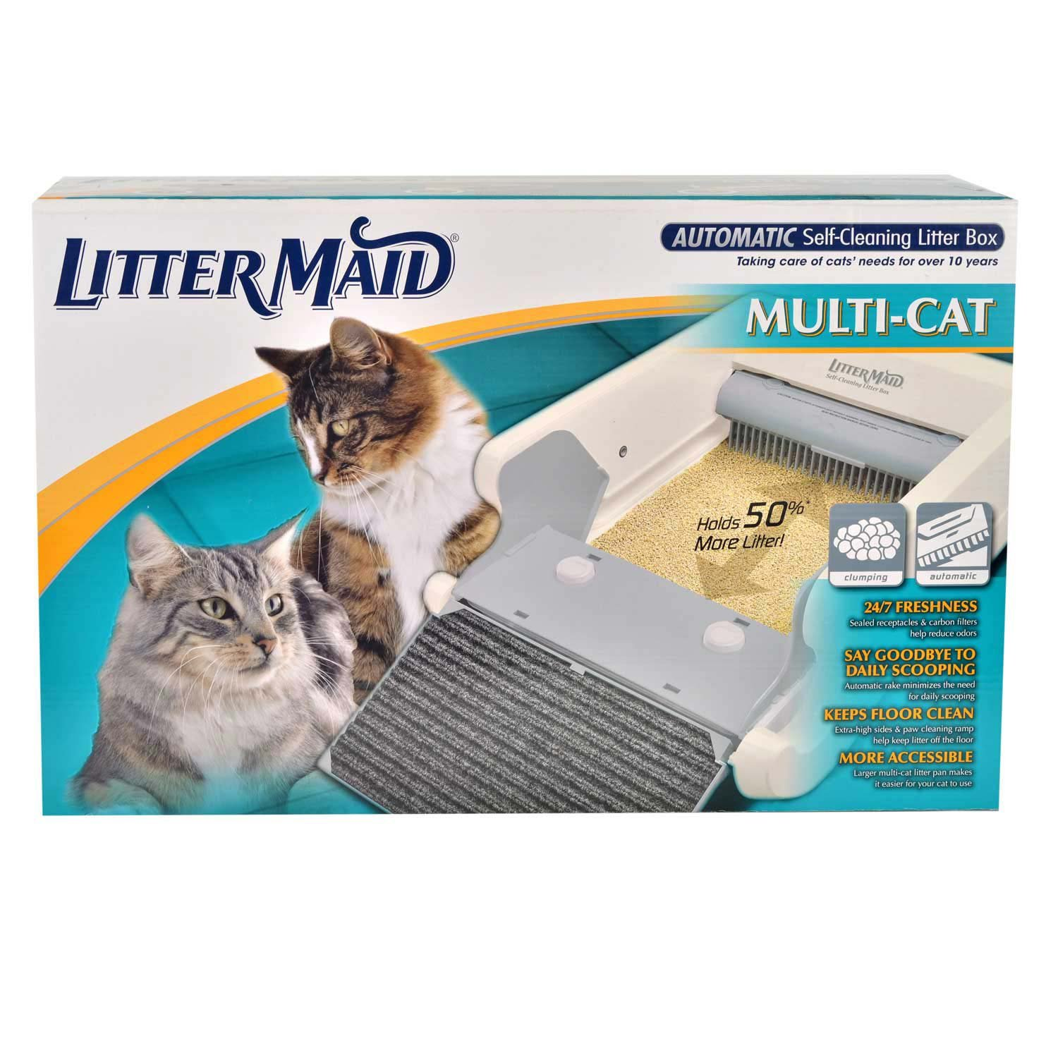 LitterMaid LM-86579 Multi-Cat Automatic Self-Cleaning Litter Box