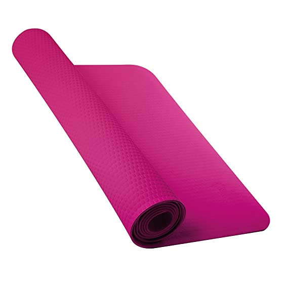 Nike - Alfombrilla para Yoga 3mm (Talla Ã?nica/Rosa Vívido ...