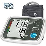 Upper Arm Blood Pressure Monitor with Automatic Digital Blood Pressure Cuff 22-42 cm 2 User Mode