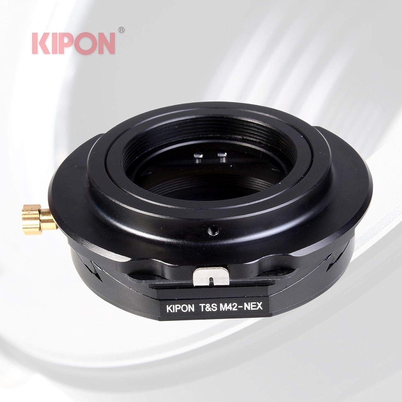 M42-NEX Tilt Lens Mount Adapter 360° Rotation M42 Mount Lens To Sony E Mount