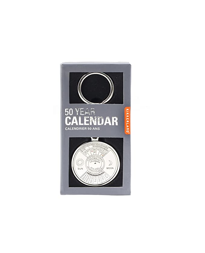 Amazon.com: Kikkerland – 50 años calendario (cal53): Office ...