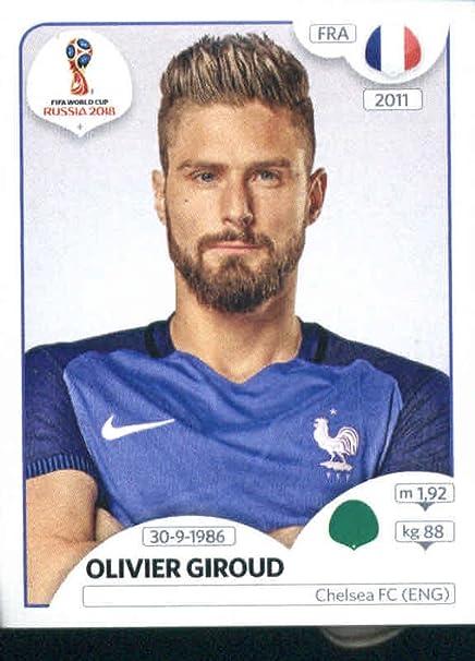 391 Olivier Giroud France No Panini World Cup 2014