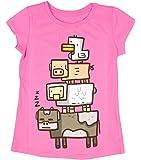 Minecraft Girls' Animal Totem Girls' Youth T-Shirt