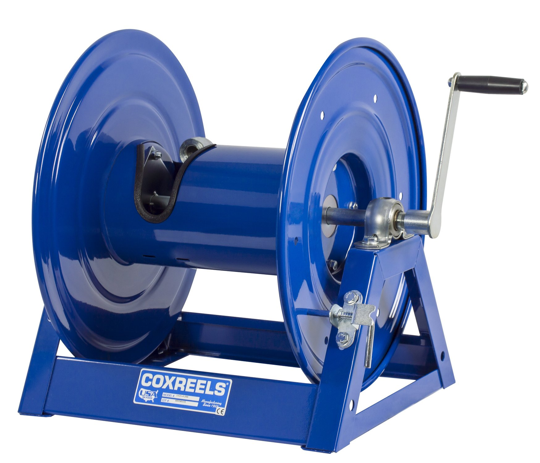 Coxreels 1125-4-100 Steel Hand Crank Hose Reel, 1/2'' Hose I.D., 100' Hose Capacity, 3,000 PSI, without Hose, Made in USA by Coxreels (Image #6)
