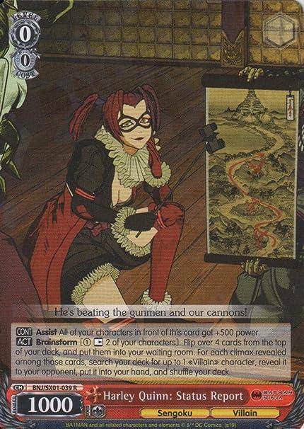 Amazon.com: Informe de estado de Harley Quinn: BNJ/SX01-039 ...