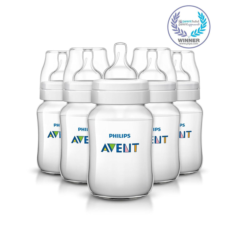 Feeding Bottle Triple Pack 3 x 260ml//9oz SCF563//37 0/% BPA Philips Avent classique