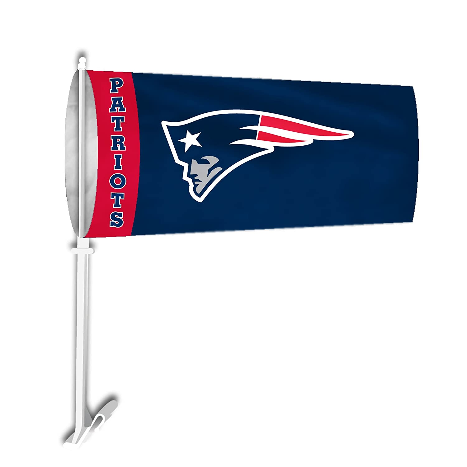 Fremont Die NFL New England Patriots Car Sock Flag Fremont Die Inc. 93011