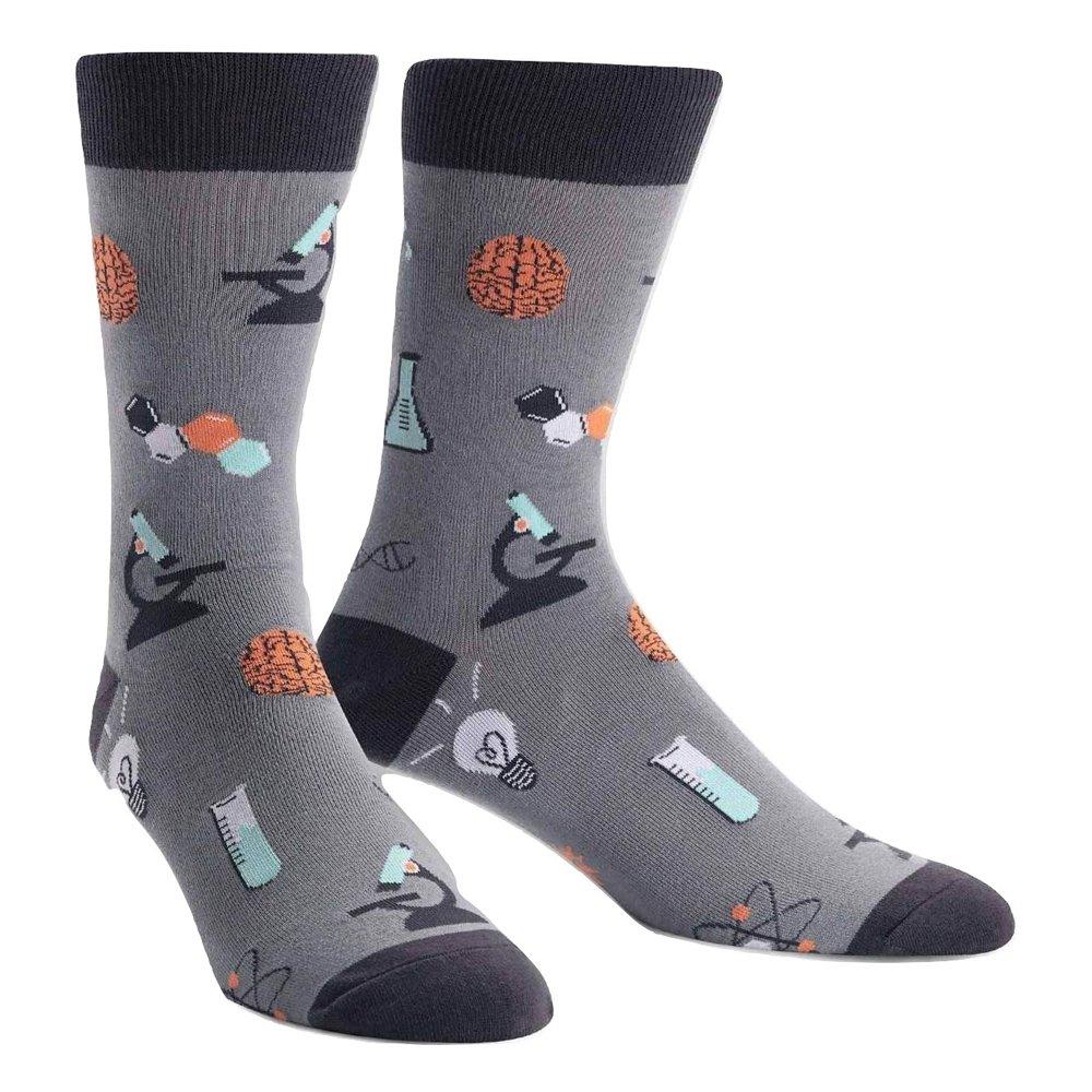 Sock It To Me Mens Crew Socks - Science of Socks MEF0238