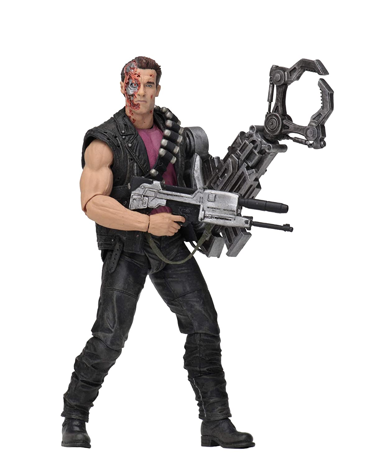 Terminator 2-7 Scale Action Figure Kenner Tribute NECA Power Arm T-800 SG/_B07MSGJL3P/_US