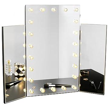 Beautify LED Spiegel für den Schminktisch – 3-teiliger ...