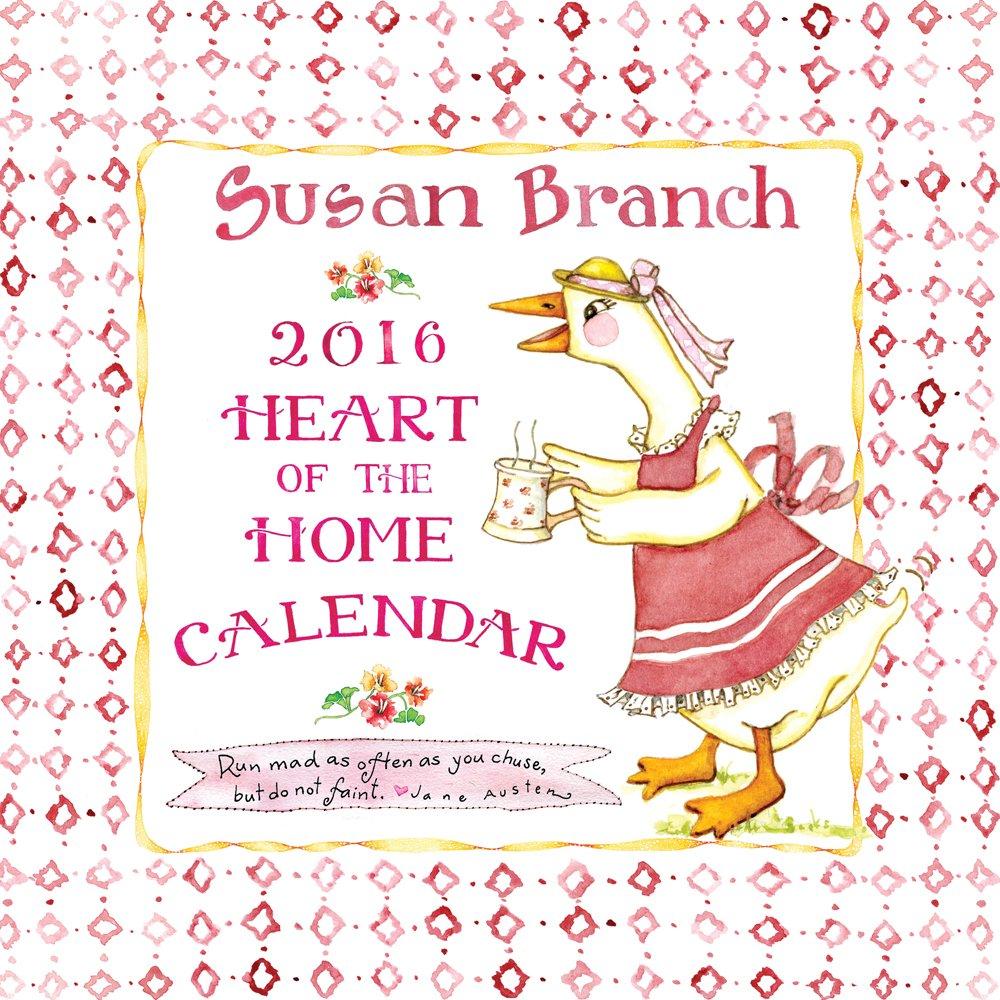 Susan Branch Calendar Amazon Ca Branch Susan Books