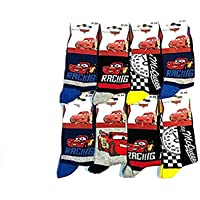 DDisney Paquete de 6 Calcetines para Niños DISNEY CARS Adorable y Cómodo en Multicolor