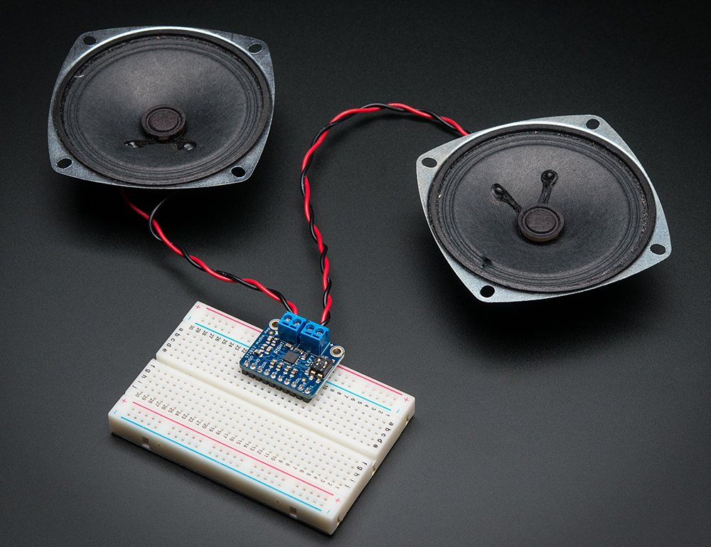 Adafruit Stereo 2.1W Class D Audio Amplifier - TPA2012