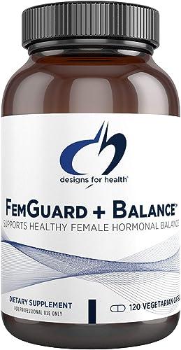 Designs for Health FemGuard Balance – Women s Formula with DIM, 5-L-MTHF Resveratrol 120 Capsules