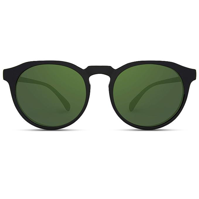 Amazon.com: WearMe Pro – Gafas de sol retro redondas con ...