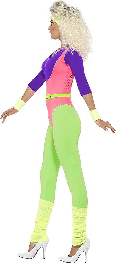 Amazon.com: Smiffys - Disfraz de los 80 para mujer: Clothing
