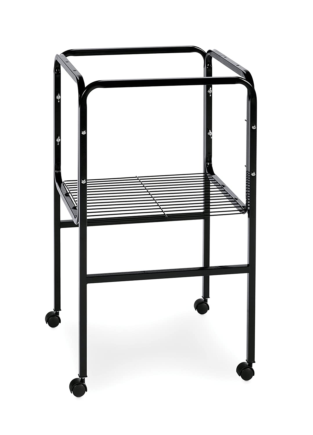 Prevue Pet Products Bird Cage Stand with Shelf, Black SP445BLK