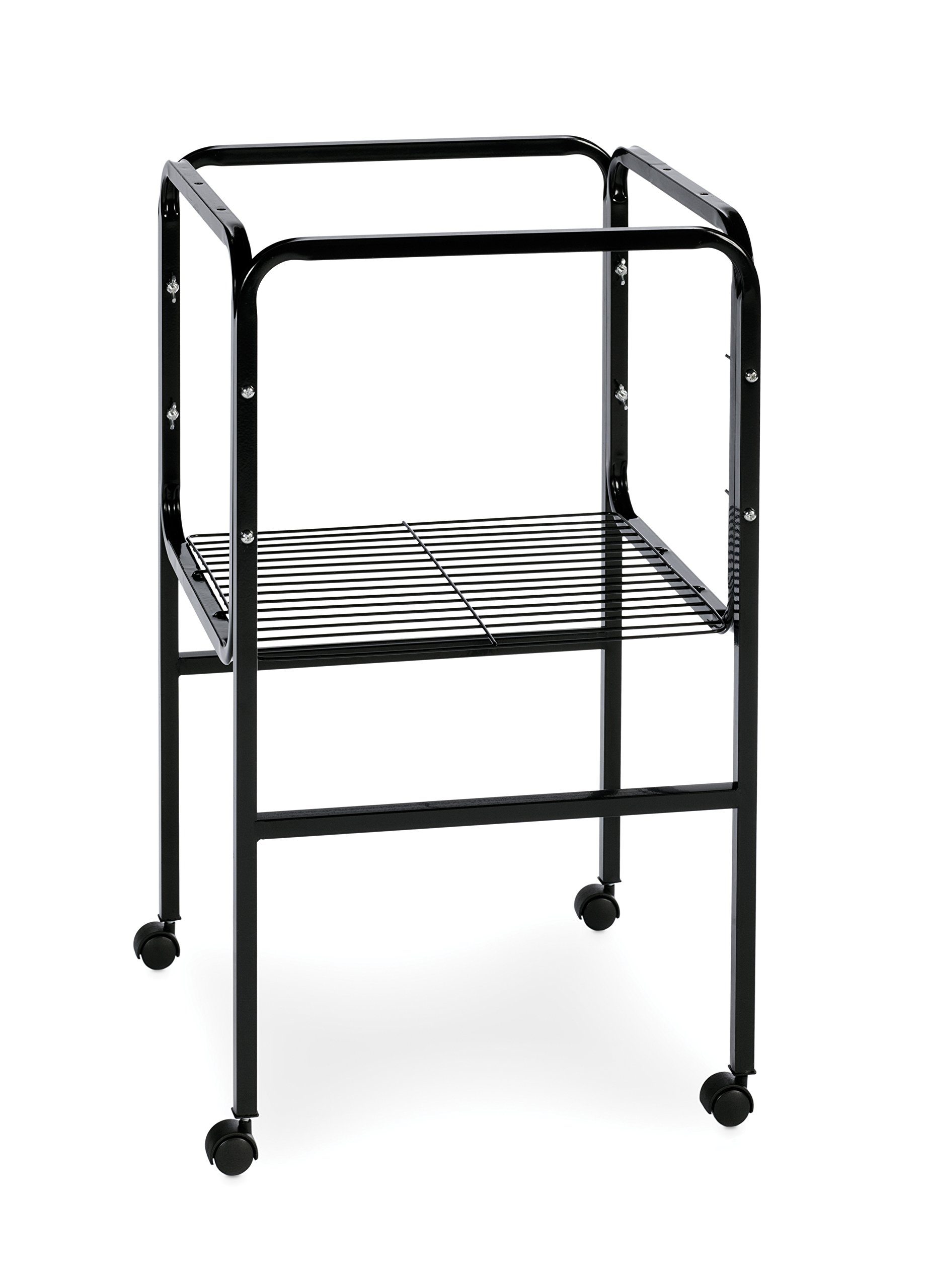 Prevue Pet Products Bird Cage Stand with Shelf, Black by Prevue Pet Products