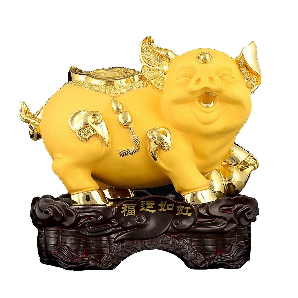 CCSP-Adornment Maiale decorazione maiale artigianato maiale Zodiaco soggiorno decorazione TV gabinetto decorazione ufficio regali creativi