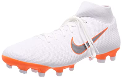 best service 69051 2cc2d Nike Mercurial Superfly 6 GS MG Junior, Chaussures de Football Mixte  Enfant, Blanc (