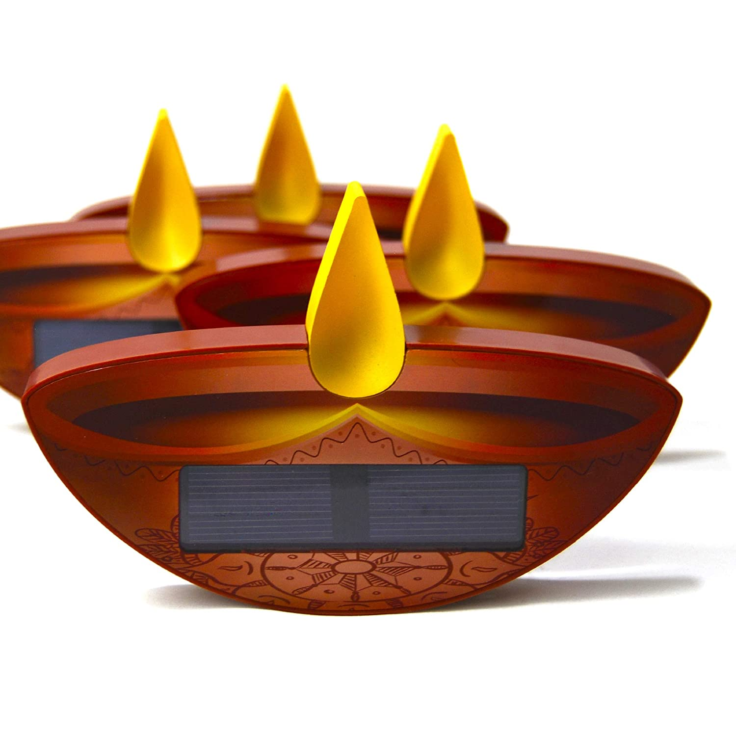 Cr8vProducts Diwali Earth Friendly Sun Candle